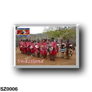 SZ0006 Africa - Swaziland - Swazi people
