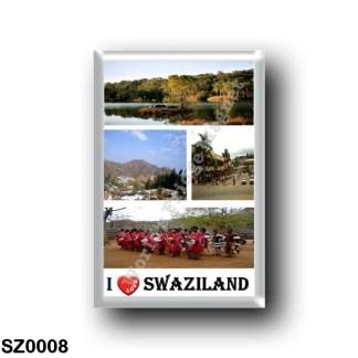 SZ0008 Africa - Swaziland - I Love