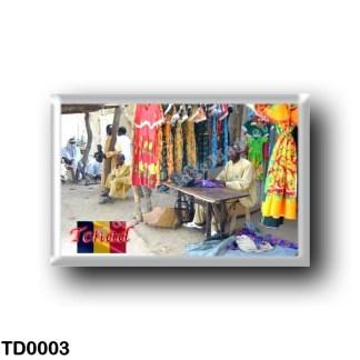 TD0003 Africa - Chad - Marché au Tchad