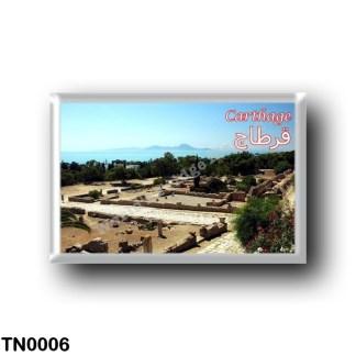 TN0006 Africa - Tunisia - Carthage - Ruins