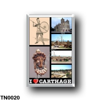 TN0020 Africa - Tunisia - Carthage - I Love