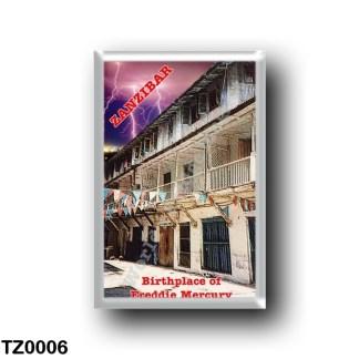 TZ0006 Africa - Tanzania - Zanzibar - Freddie Mercury birthplace