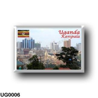 UG0006 Africa - Uganda - Kampala - Downtown