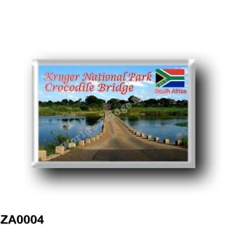 ZA0004 Africa - South Africa - Kruger National Park - Crocodile Bridge