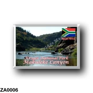 ZA0006 Africa - South Africa - National Park Makuleke Canyon