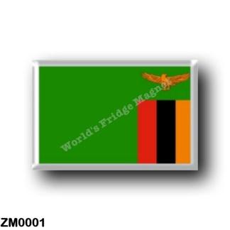 ZM0001 Africa - Zambia - Zambian Flag