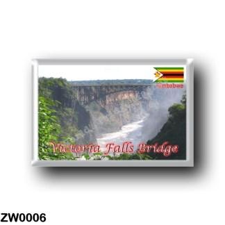 ZW0006 Africa - Zimbabwe - Victoria Falls Bridge
