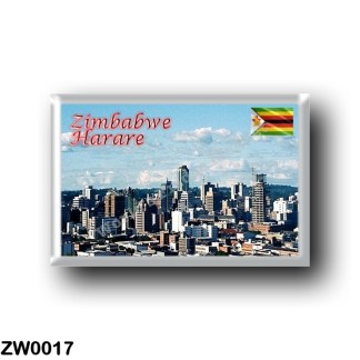 ZW0017 Africa - Zimbabwe - Harare Skyline