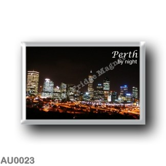 AU0023 Oceania - Australia - Perth - By Night