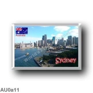 AU0a11 Oceania - Australia - Sydney - Panorama