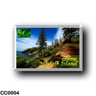 CC0004 Oceania - Cocos (Keeling) Islands - Norfolk - Island