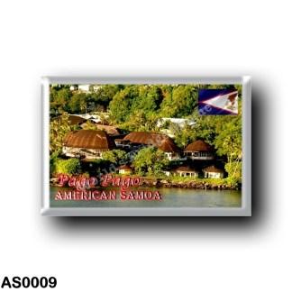 AS0009 Oceania - American Samoa - Pago Pago