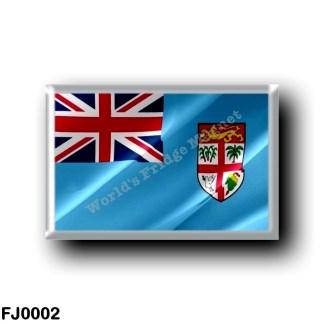 FJ0002 Oceania - Fiji - Flag Waving