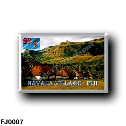 FJ0007 Oceania - Fiji - Navala Village