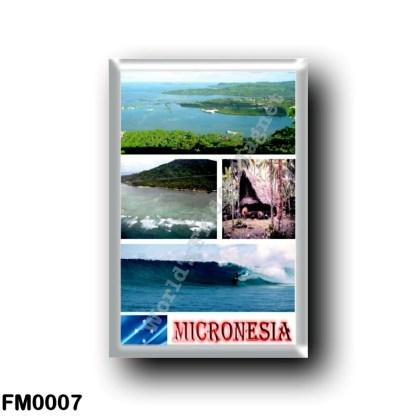 FM0007 Oceania - Federated States of Micronesia - Mosaic