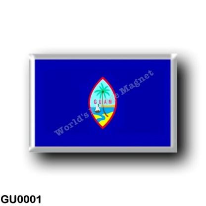 GU0001 Oceania - Guam - Flag