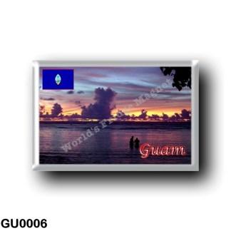 GU0006 Oceania - Guam - Sunset