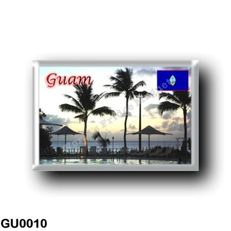 GU0010 Oceania - Guam - Sunset