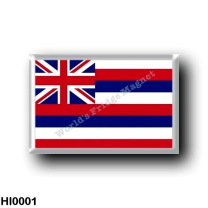 HI0001 Oceania - Hawaii - Flag - Hawaiian Islands