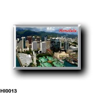 HI0013 Oceania - Hawaii - Honolulu - Panorama