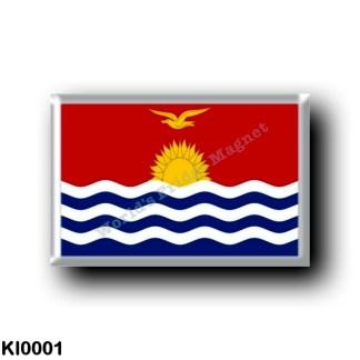 KI0001 Oceania - Kiribati - Flag