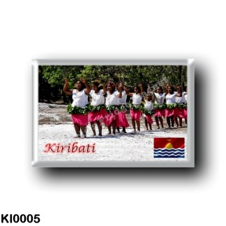 KI0005 Oceania - Kiribati - Kuria Dancers