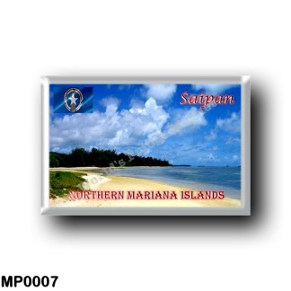 MP0007 Oceania - Northern Mariana Islands - Saipan - Tanapag Beach