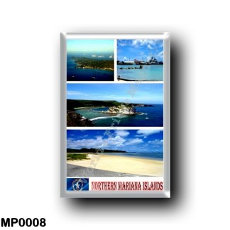 MP0008 Oceania - Northern Mariana Islands - Mosaic