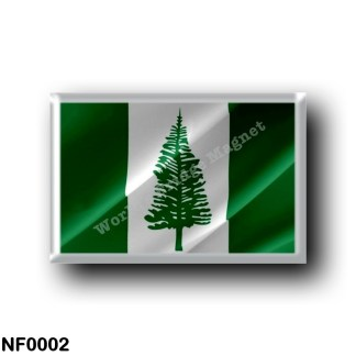 NF0002 Oceania - Norfolk Island - Flag Waving