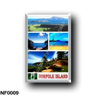 NF0009 Oceania - Norfolk Island - Mosaic