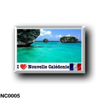 NC0005 Oceania - New Caledonia - L'Île des Pins - I Love