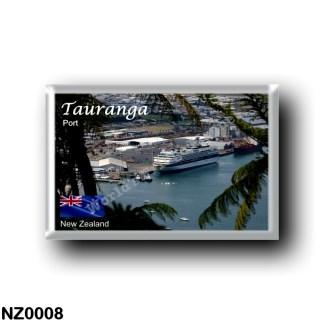 NZ0008 Oceania - New Zealand - Tauranga - Port