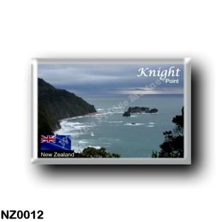 NZ0012 Oceania - New Zealand - West Coast - Knight's Point