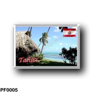 PF0005 Oceania - French Polynesia - Tahiti Panorama