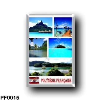 PF0015 Oceania - French Polynesia - Mosaic
