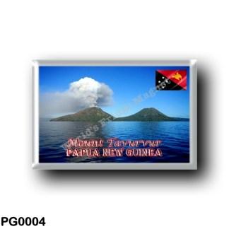 PG0004 Oceania - Papua New Guinea - Mount Tavurvur
