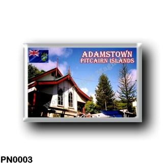 PN0003 Oceania - Pitcairn Islands - Adamstown - The Church