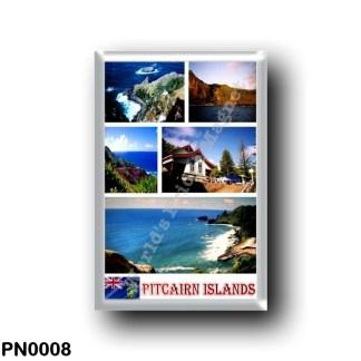 PN0008 Oceania - Pitcairn Islands - Mosaic