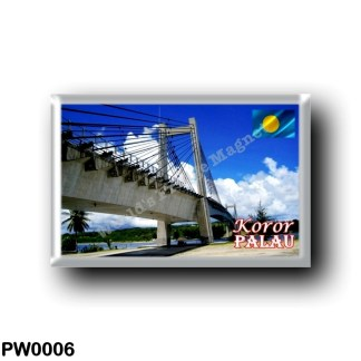 PW0006 Oceania - Palau - Koror - Friendship Bridge