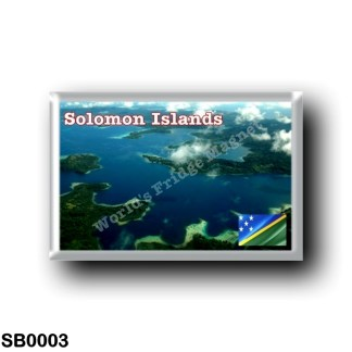 SB0003 Oceania - Solomon Islands - Aerial View