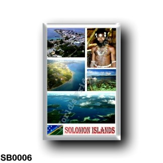 SB0006 Oceania - Solomon Islands - Mosaic