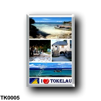 TK0005 Oceania - Tokelau - I Love
