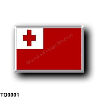 TO0001 Oceania - Tonga - Flag
