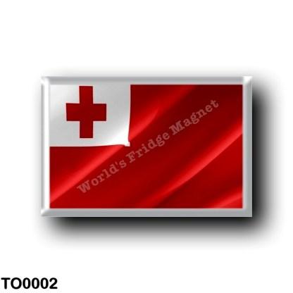 TO0002 Oceania - Tonga - Flag Waving