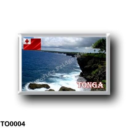TO0004 Oceania - Tonga - Coastline
