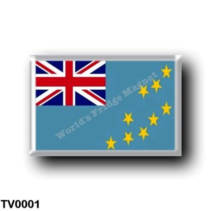 TV0001 Oceania - Tuvalu - Flag