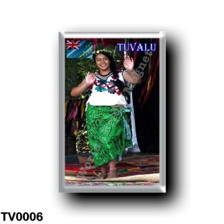 TV0006 Oceania - Tuvalu - Dancer