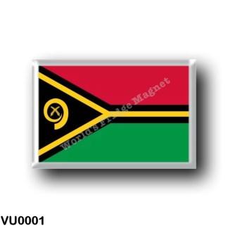 VU0001 Oceania - Vanuatu - Flag