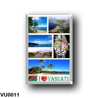 VU0011 Oceania - Vanuatu - I Love