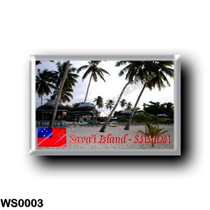 WS0003 Oceania - Samoa - Sava'i Island - Falealupo Beach